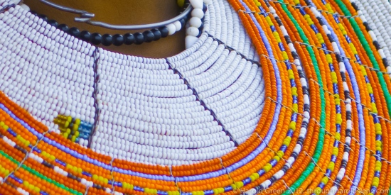 Rings Of Regal Attire. The Maasai.